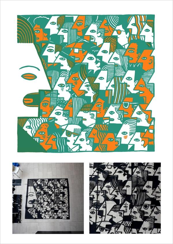 pluralist riso and papercut