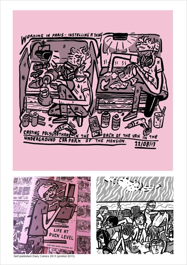 self published diary comics 2013